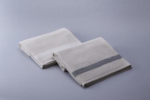 2 Tone Gauze Pile Pillow & Blanket
