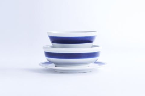 Shiro Ao Stripes